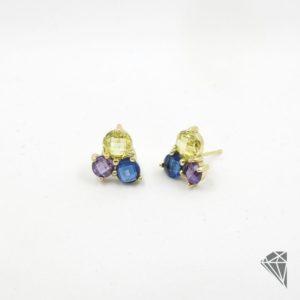 pendientes-plata-dorada-con-circonitas-multicolor