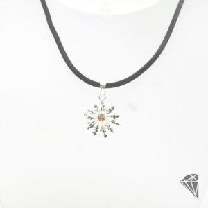 colgante-eguzkilore-plata-piedra-champan-26mm