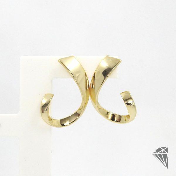 pendientes-plata-dorada