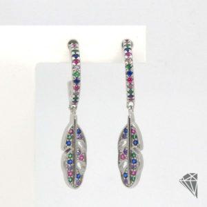 pendientes-plata-con-pluma-multicolor