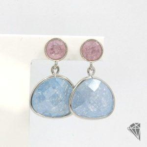 pendientes-plata-con-piedras-azul-cielo